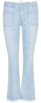 Stella McCartney Distressed Star Flared Jeans