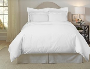 Pointehaven 620 Thread-Count Cotton 3-Piece King/Cal King Duvet Set Bedding