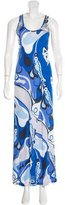 Emilio Pucci Printed Embellished Dress