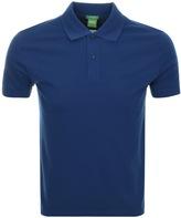 BOSS GREEN C Firenze Polo T Shirt Blue