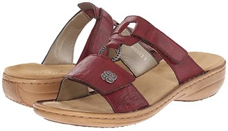 Rieker 60829 Regina 29 (Wine) Women's Sandals