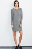 Diya Stripe Cozy Jersey Dress