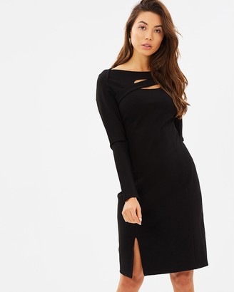 Privilege Cosmopolitan Cutout Dress