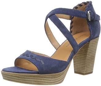 Marc O'Polo Women's High Heel Sandal Open Toe Sandals Blue Size: