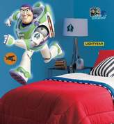 RoomMates York Wallcoverings 205976 Disney Buzz Lightyear Glow in the Dark Giant Peel and Stick Wall Decals