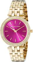 Michael Kors Women's Mini Darci Gold-Tone Watch MK3444