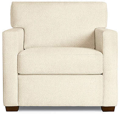 Design Within Reach Vesper Armchair, Offwhite Fabric