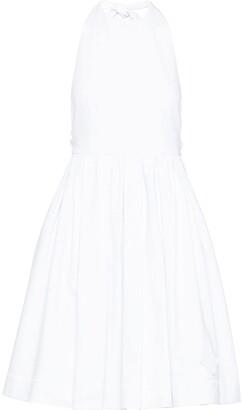 Prada Flared Halterneck Dress