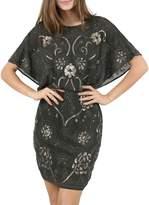 Molly Bracken Beaded Mini Dress