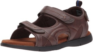 Nunn Bush Men's Rio Grande Three Strap River Sandal