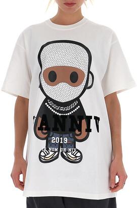 Ih Nom Uh Nit Graphic Logo Print Crewneck T-Shirt