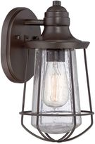 Quoizel Marine Outdoor Wall Lantern in Weathered Bronze