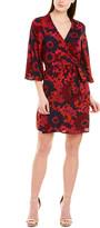 Julie Brown Silk Wrap Dress