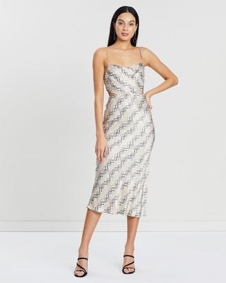 Bec & Bridge Python Midi Dress