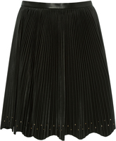 Elie Saab Pleated Mini Skirt
