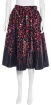Preen 2015 Floral Print Skirt
