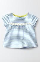 Toddler Girl's Mini Boden Pretty Stripe Shirt