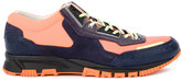 Lanvin lace-up panelled sneakers - men - Polyester/Bos Taurus/Thermoplastic Polyurethane (TPU) - 5