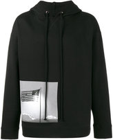 Raf Simons X Robert Mapplethorpe American flag hoodie - men - Cotton - XS