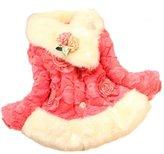 Leegor Baby Girls Kids Toddler Outwear Clothes Winter Jacket Coat Snowsuit (24M, )
