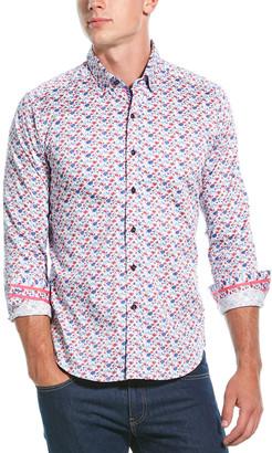 Robert Graham Everard Tailored Fit Woven Shirt