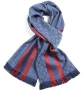 Gucci Men's Verbier Wool & Silk Scarf