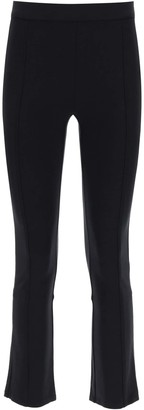 Tory Burch PONTE FLARE TROUSERS M Black