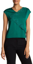 Tracy Reese Asymmetric Shell Top