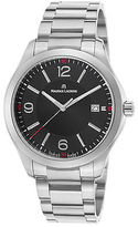 Maurice Lacroix MI1018-SS002-330 Men's Miros Stainless Steel Black Dial SS