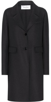 Valentino Virgin wool and angora-blend coat