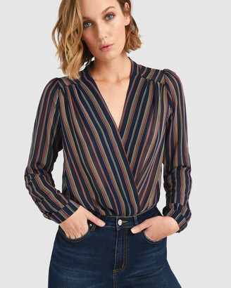 Forcast Lennox Stripe Bodysuit