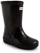 Hunter Unisex Kids First Gloss Rain Boots - Walker, Toddler, Little Kid
