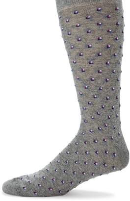 Saks Fifth Avenue Tiny Tiles Socks