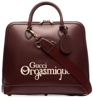 Gucci Horsebit Orgasmique tote bag