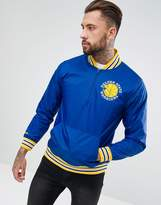 Mitchell & Ness Nba Golden State Warriors Overhead Jacket