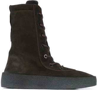 Yeezy Season 4 lace-up boots