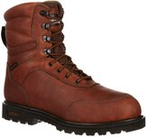 "Rocky Outdoor Boots Mens 9"" Brute Insulated WP 11.5 EE Brown RKS0185"