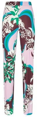 Emilio Pucci Abstract Print Trousers