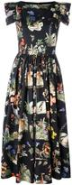 Vivetta printed flared dress