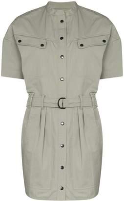 Etoile Isabel Marant Zolina button-down mini dress