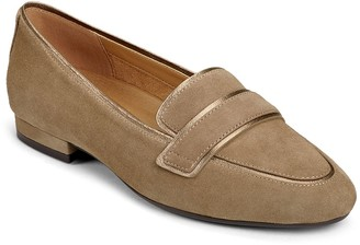 Aerosoles Leather Tailored Loafers - Outer Limit