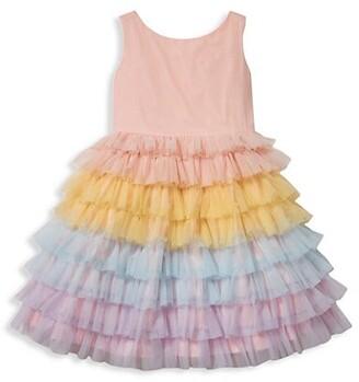 Janie and Jack Baby Girl's, Little Girl's & Girl's Soft Tulle Dress