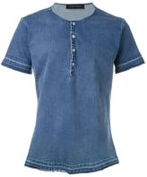 Christian Pellizzari denim T-shirt