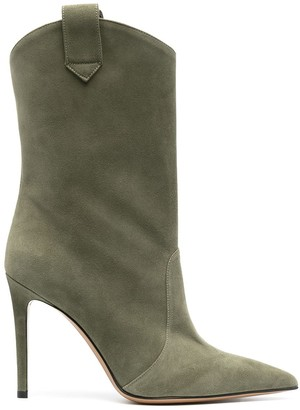 Alexandre Vauthier Wayne 105mm ankle boots