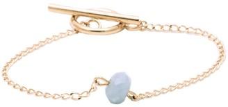 Salome Bridal Collection Aquamarine Gemstone Bracelet