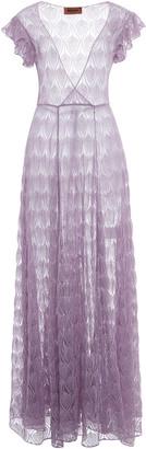 Missoni Crochet-Knitted Maxi Dress