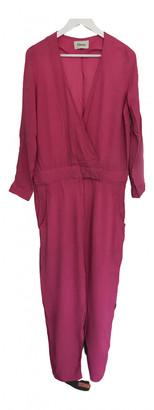 Ganni Pink Viscose Jumpsuits