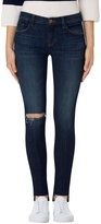 J Brand Mid Rise Super Skinny In Disguise Destruct