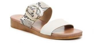 Coach And Four Flip Wedge Sandal