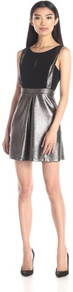 BCBGeneration Women's Dress with A Line Skirt